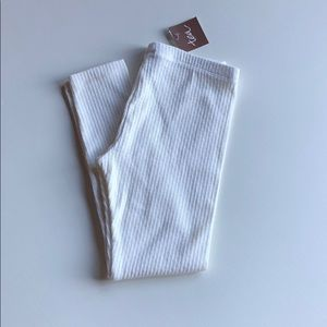 Tea Collection | Cream Pointelle Leggings | 6